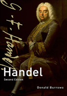 Burrows Handel (Master Musicians), 2nd edition
