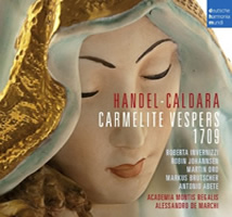 Caldara & Handel so-called Vespers