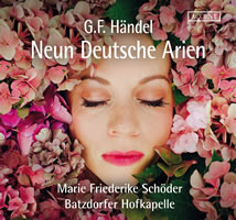 Nine German Arias Batzdorfer Hofkapelle Accent
