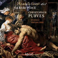 Handel's Finest Arias for Base Voice Christopher Purves