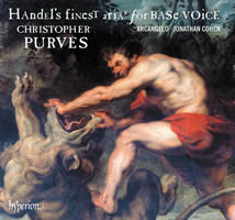 Handel's Finest Arias for Base Voice Volume 2 Christopher Purves