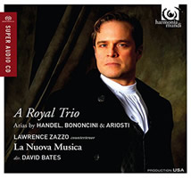 Lawrence Zazzo A Royal Trio