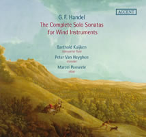 Accent Handel Solo Sonatas for Woodwind